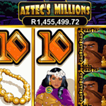 Who will win multi-millon rand jackpot of Aztec's Millions?